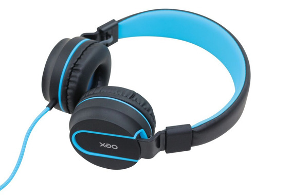 Headset Fone Neon Oex Hs106 Azul