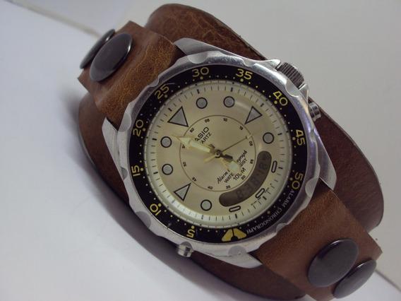 Reloj Casio Para Caballero Ad-520 Modulo 388 , Vintage 80´
