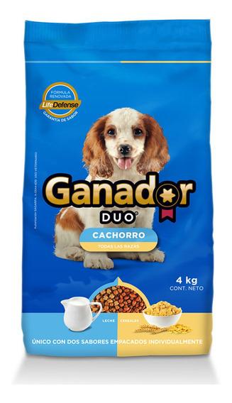 Ganador Duo Alimento Perro Cachorro 4 Kg