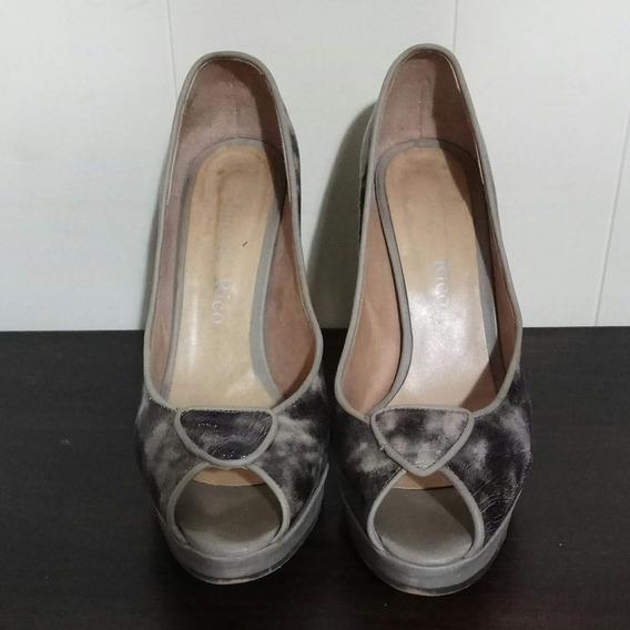 Zapatos Visón Marcelo Rico Con Poco Uso