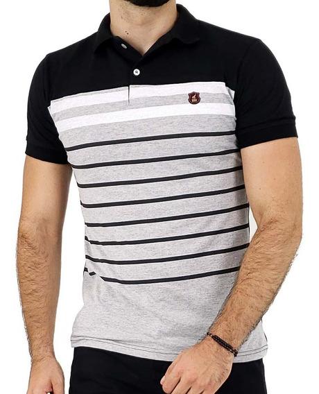 Camisas Polo Masculinas Listradas - Ótima Qualidade