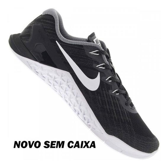 Tênis Nike Metcon 3 Preto Feminino Crossfit Funcional Treino