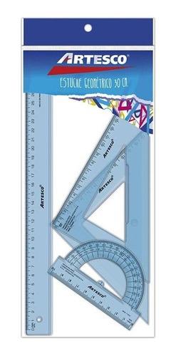 Imagen 1 de 1 de Juego De Geometría 30 Cm.