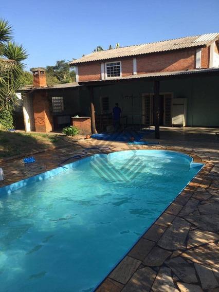 Casa Com 6 Dormitórios Para Alugar, 460 M² Por R$ 2.200,00/mês - Mirante Do Ipanema - Araçoiaba Da Serra/sp - Ca6701