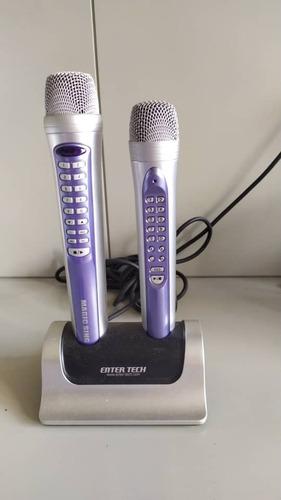 Karaoke Con Micrófonos Dual