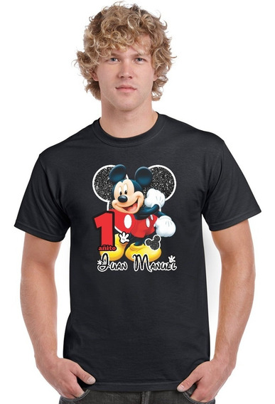 Playeras Mickey Mouse Personalizadas Colores