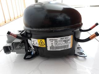 W10769940 Compressor Embraco 1/5 220v Em2p70clp R600a
