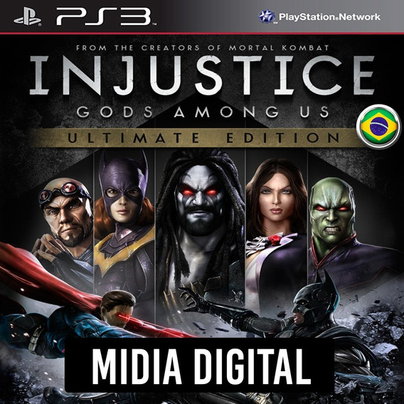 Ps3 - Injustice Gods Among Us Ultimate Dublado