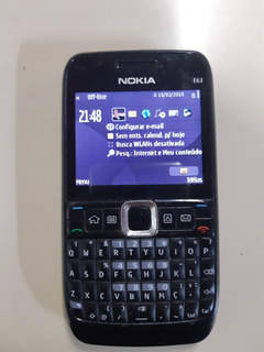 Celular Nokia E63 Operadora Claro Sem Acessórios