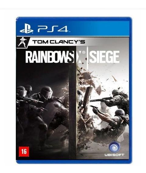 Tom Clancys Rainbow Six Siege - Ps4 - Novo - Mídia Fisica