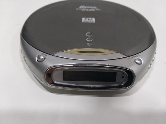Discman Lenoxx Dm86 Funcionando Com Radio Fm