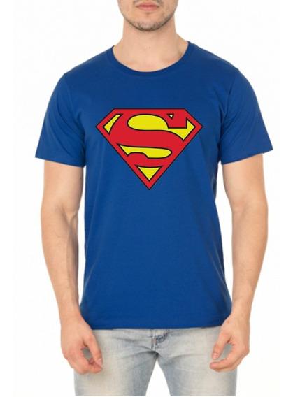 Camiseta Super Man Masculina Geek Marvel