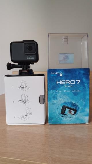 Câmera Gopro 7 Silver - Novíssima