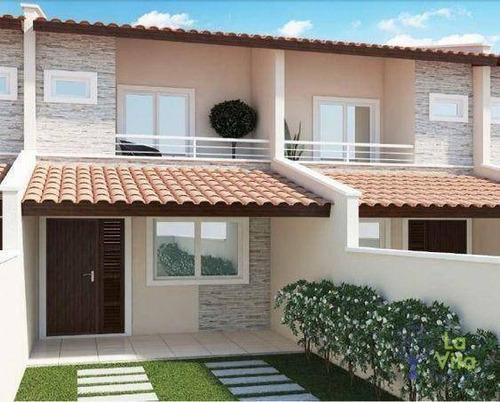 Casa Com 3 Dormitórios À Venda, 138 M² Por R$ 440.000,00 - Velha Central - Blumenau/sc - Ca0457