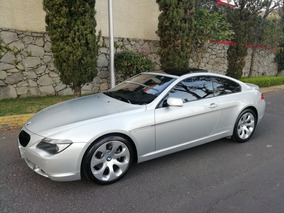 Bmw Serie 6 4.8 650cia Coupe At 2007