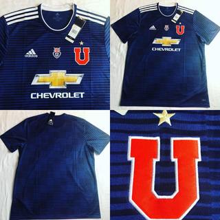 Camisa Universidad De Chile Lau 2018 Gg Inf 70x49 Veste P