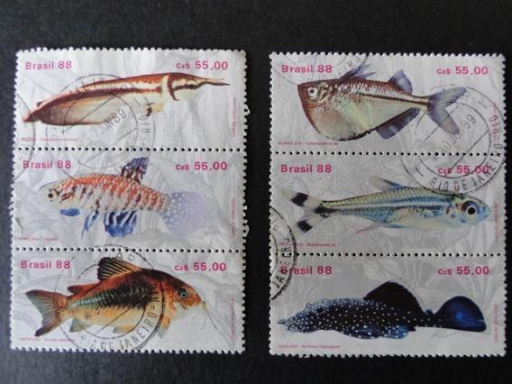 Peixes - Coleção De Selos Brasileiros - 4682