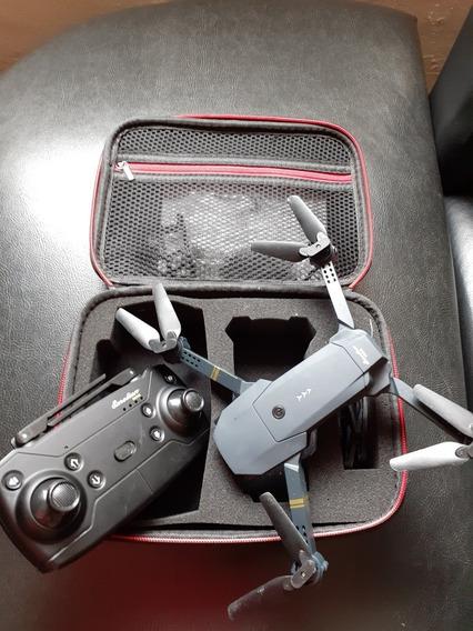 Lote Drone X Pro Usado (igual E58)+ Maleta + Drone Dromida