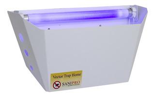 Lámpara Atrapa Insectos Ecológica. Insectocutor Moscas 100%