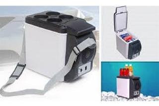 Mini Geladeira Refrigerador E Aquecedor 6l Automotiva Carro