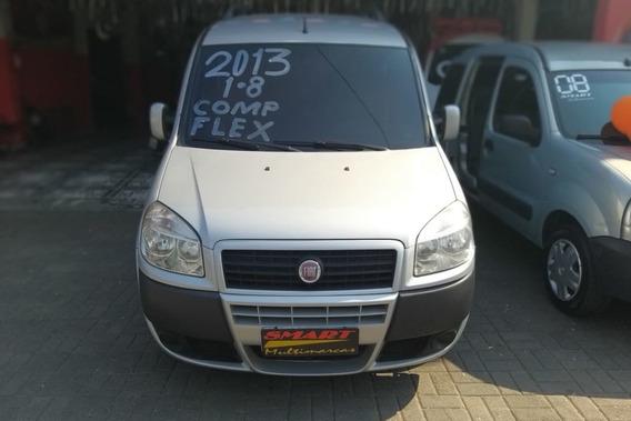 Fiat Doblo 1.8 16v Essence Flex 5p 2013/2013 Prata