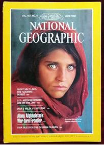 Revista National Geografic - Menina Afegã