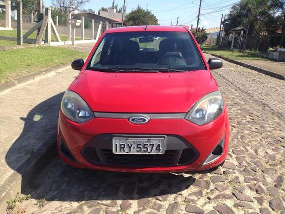 Ford Fiesta 1.0 Hatch 8v Flex 5p Manual Básico Vermelho
