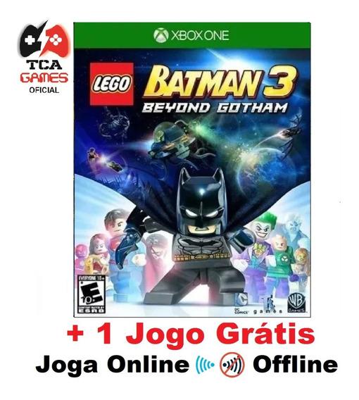Lego Batman 3 Beyond Gotham Xbox One Mídia Digital