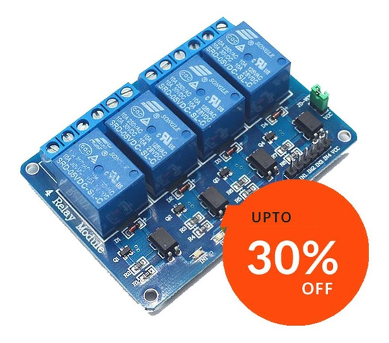 Modulo Relay Rele De 4 Canales 5v 10a Arduino Rele