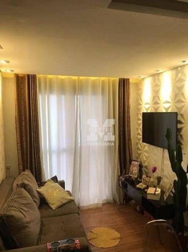 Apartamento Com 2 Dormitórios À Venda, 49 M² Por R$ 287.000,02 - Jardim Rossi - Guarulhos/sp - Ap2872