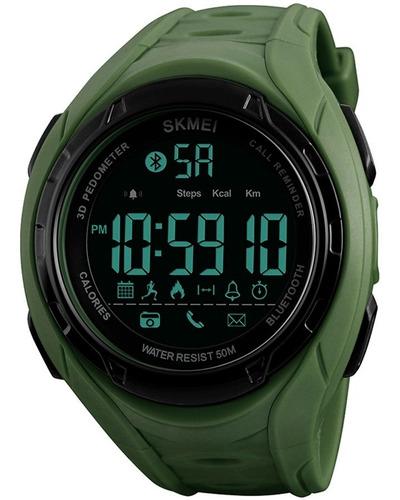 Reloj Skmei 1316 Bluetooth Podómetro Calorías Moda Acuático