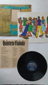 Lp Quinteto Violado Pilograma Baião Encarte Mpb Frete Grátis