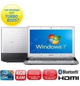 Notebook Samsung Core I5 Com Hd 500gb Gb E 4gb Memoria Hdmi