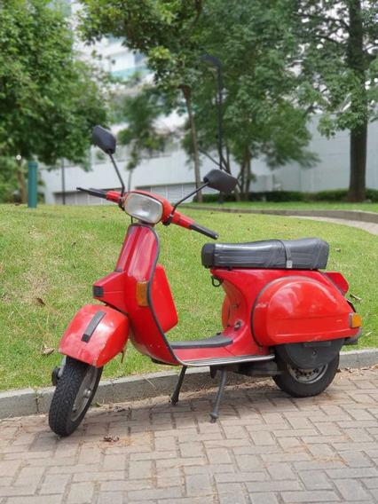 Vespa Vermelha - Ótimas Condições!!!