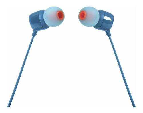 Fone de ouvido JBL Tune 110 blue