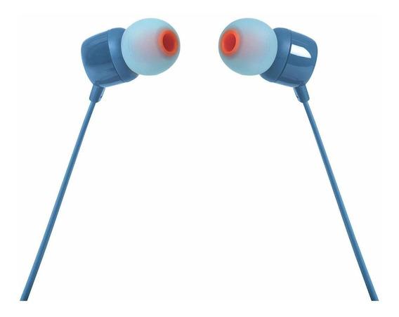 Fone de ouvido JBL 110 blue