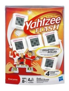 Juguete Juego De Mesa Yahtzee Flash Electrónico De Hasbro
