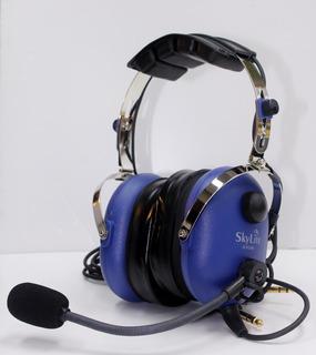 Auriculares De Avion Estéreo Skylite Sl-900m - Headsets