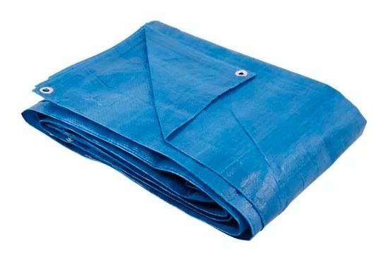 Lona Carreteiro Encerado Azul 70g/m2 5x3m