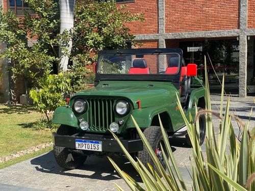 Imagem 1 de 13 de Jeep Willys 1961