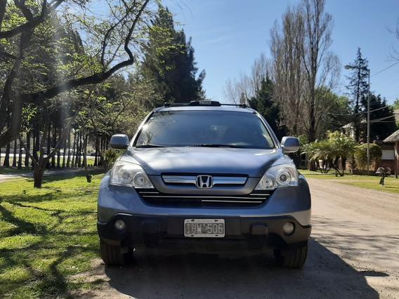 Honda Crv Exl At 4x4 2.4 Con Cuero Automatica