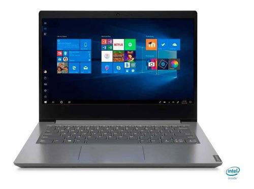 Imagen 1 de 5 de Laptop Lenovo Celeron N4020 14  128gb Ssd 4gb Ddr4 W10 Home