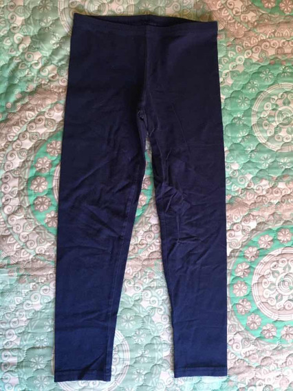 Leggings Azul Marino De Niña Old Navy Talla M 8