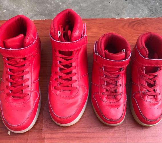 Zapatos Rojos Talla 38 Y 32us