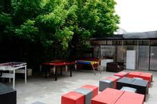 Salon Gratis Villa Del Parque Con Parque Parrilla Y Barra