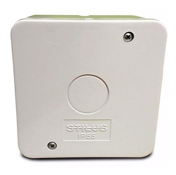 8 Caixa Proteção Organizadora Proteção Conectores Cftv Ip55