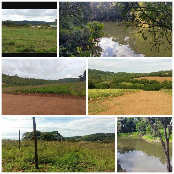 Terreno Ideal Para Chácara Com Lago Pra Pesca E Portaria J
