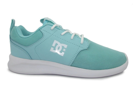 Tenis Dc Shoes Midway Sn Youth Adgs700021 Mnt Mint Menta