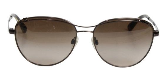 Óculos Chanel Metal Marrom Chanel