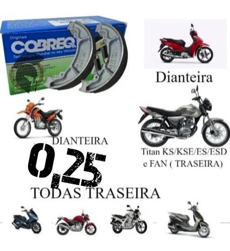 Lona Patim Freio 0,25 Cg 150 Titan 125 Diant Fan Start 160